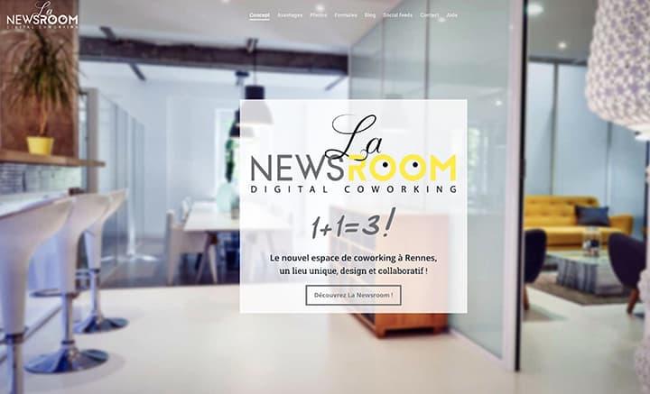 coworking newsroom